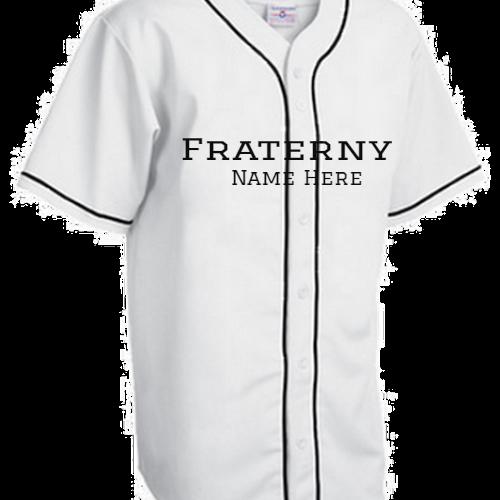 Fraternity Baseball Jersey