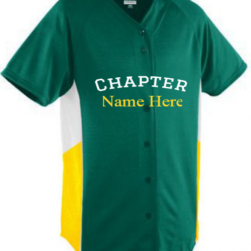Greek Chapter Baseball  Jersey