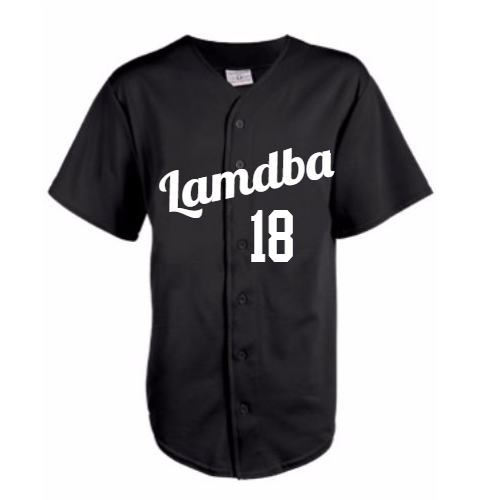 Greek Game Weight Baseball Jersey