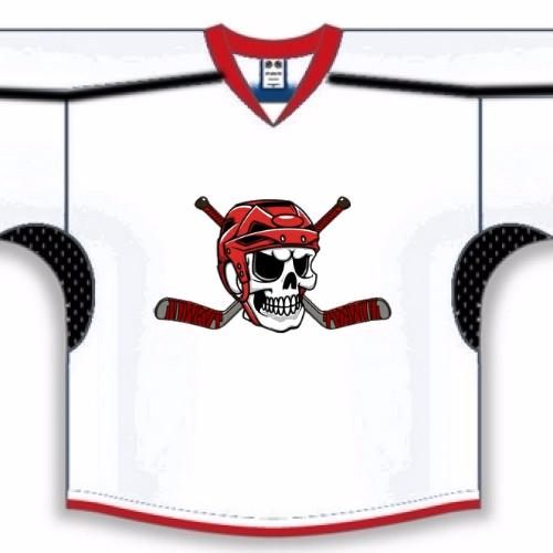 Skull and Stick Hockey Jerseys