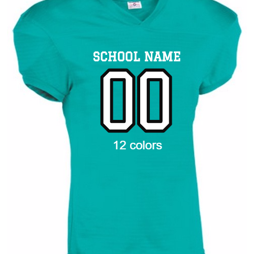 schools football jerseys