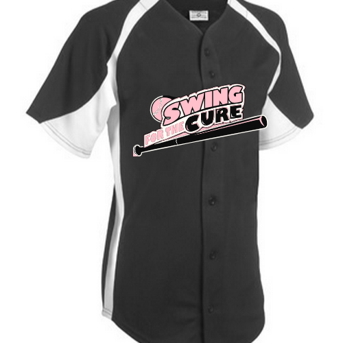 Swing For the cure baseball jerseys