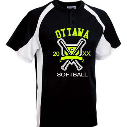 Ottawa Softball Jerseys