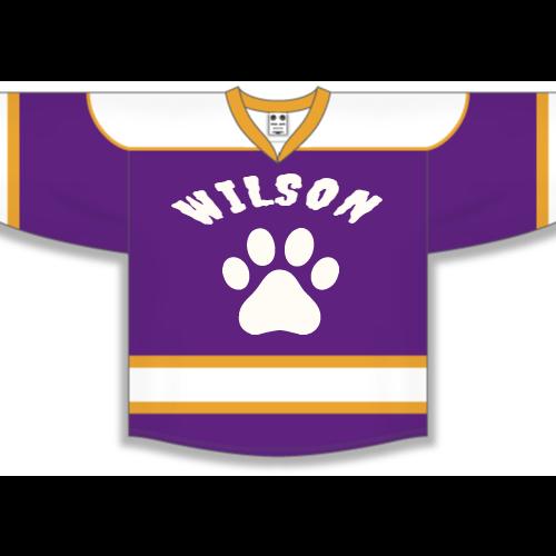 Purple Tigers Hockey Jerseys