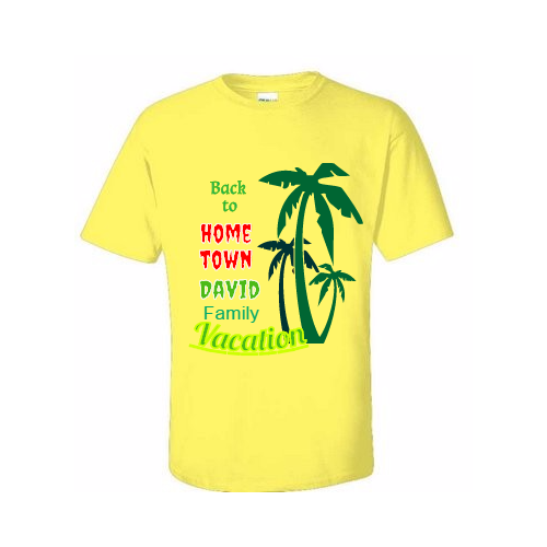 Design Family Vacation T-shirts