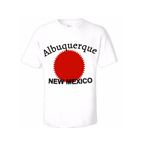 Lovely Albuquerque T-shirts