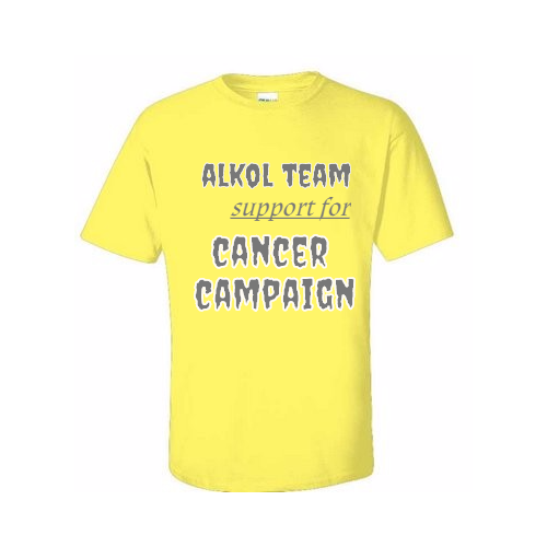 custom Cancer t-shirts for your campaign