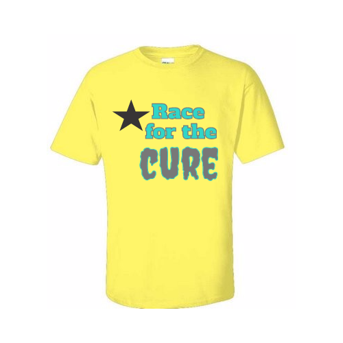 design personalized cure t-shirt