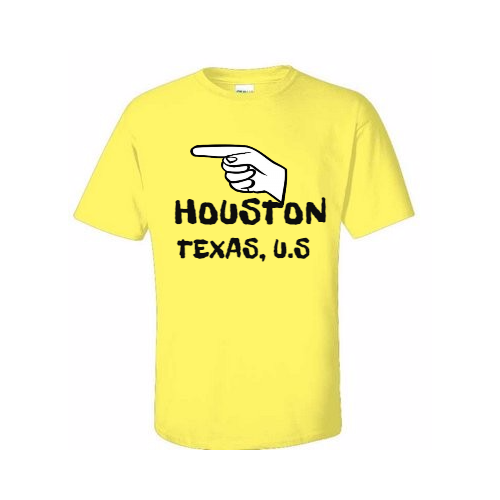 Show Your Civic Pride in Customized Houston T-Shirts