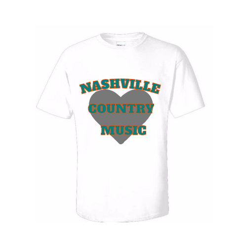Design Nashville tee shirts