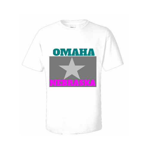 Make personalized Omaha tee shirts