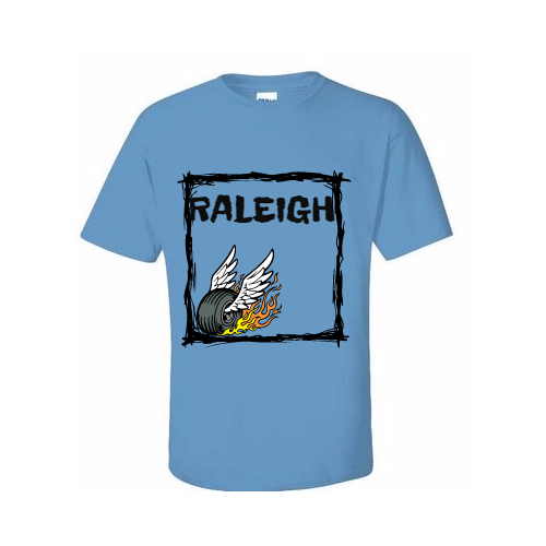 Represent Raleigh with T-shirts Made