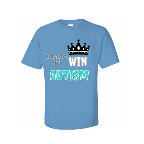 personalized Autism T-shirts for support team