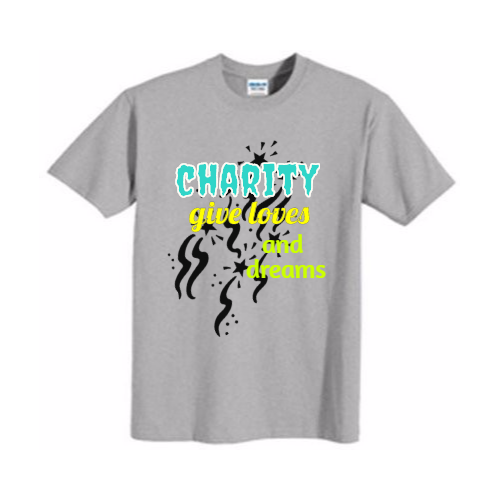 custom Charity team t-shirts