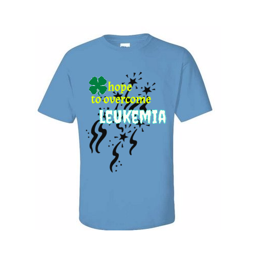 custom win Leukemia shirts