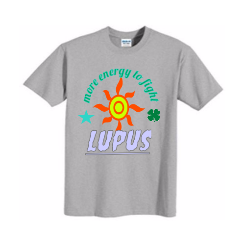 group support Lupus Awereness Shirt