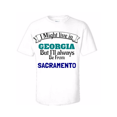 Lovely sacramento t-shirts