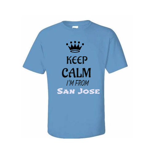 Custom designed San Jose T-shirts