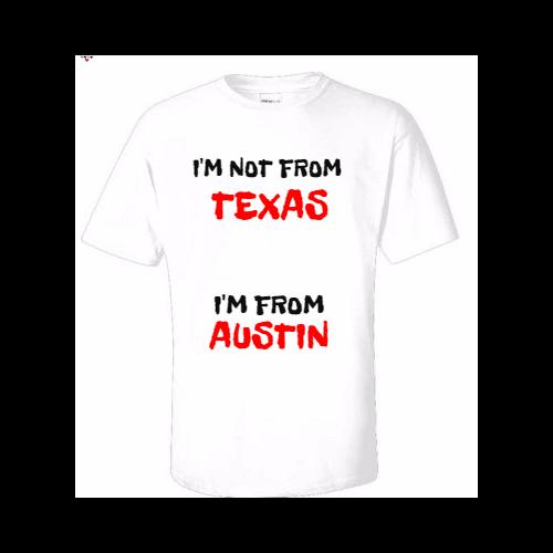 Custom Austin T-shirts