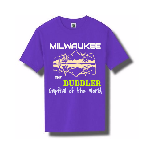 Your Civic Pride in Customized Milwaukee T-Shirts