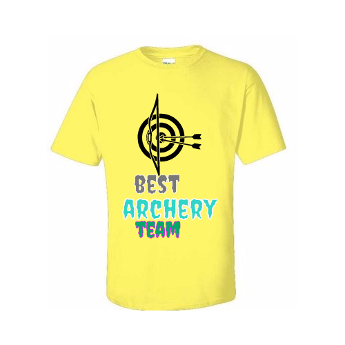 Archery T-shirt for your Team
