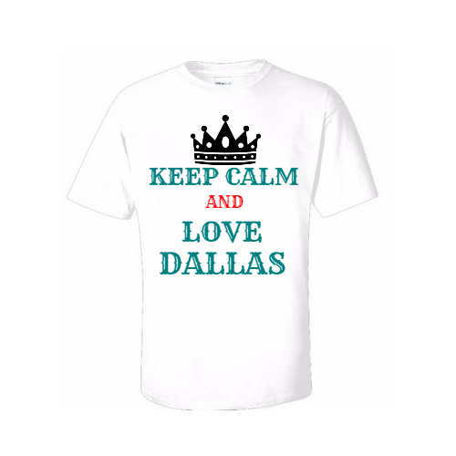 show your city spirit in a custom dallas t shirt