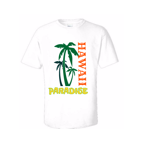 Design customized Hawaiian tee shirts