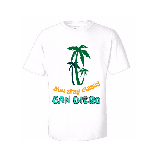 Custom San Diego T-Shirts