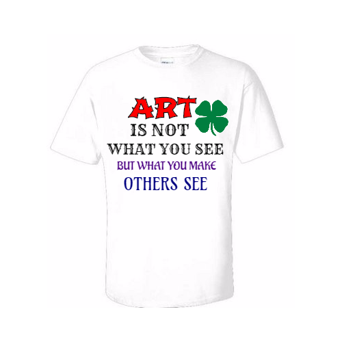 Customized art club t- shirts