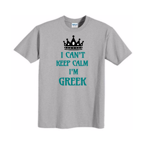 Custom Greek T-shirts