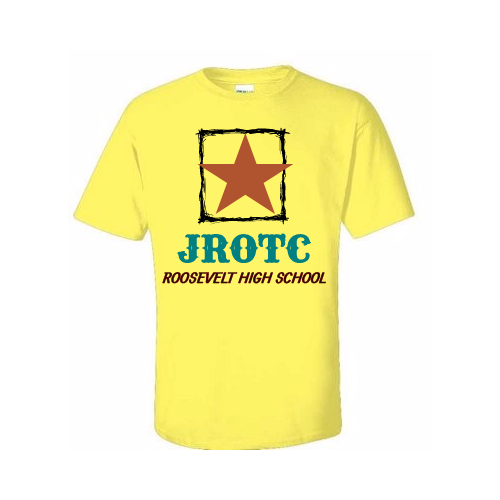 Design personalized JROTC t- shirts