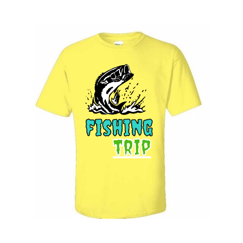 Custom Fishing T-shirts