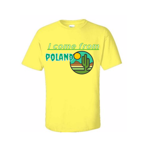 Custom Polish T-shirts