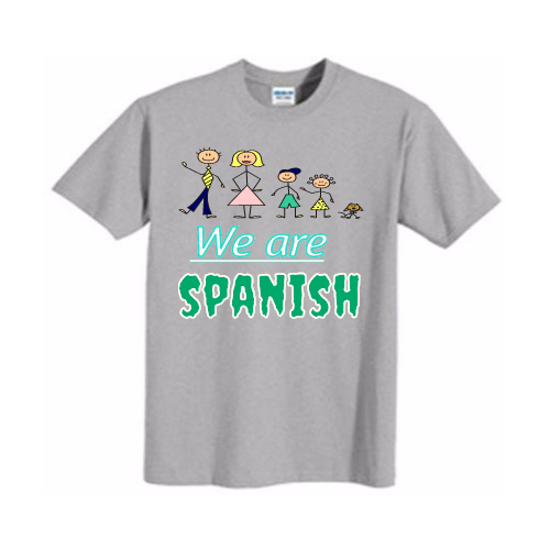 Custom Spanish Club T-shirts