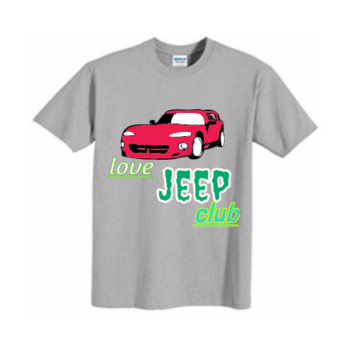 Custom Jeep T-shirts