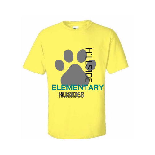 Customized elementary school t- shirts