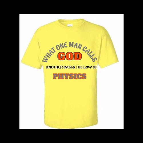 Custom Physics T-shirts