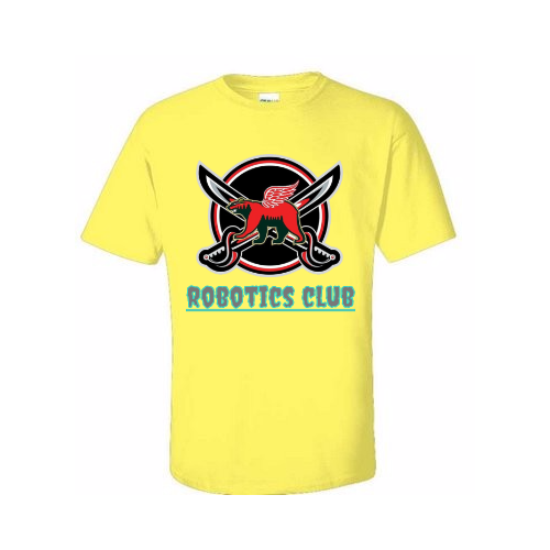 Robotics Team T-shirts