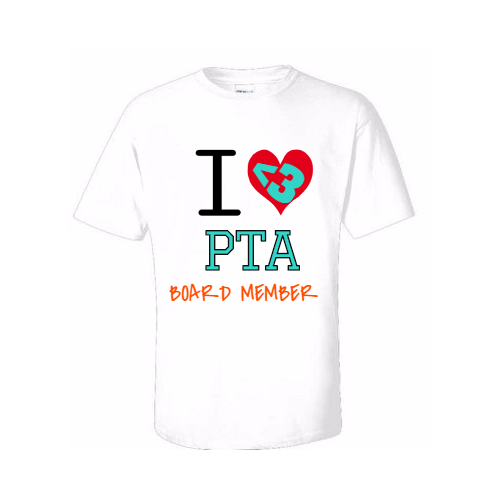 customized PTA tee shirts