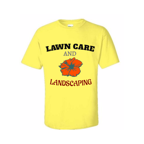 Custom Lawn Care T-Shirts