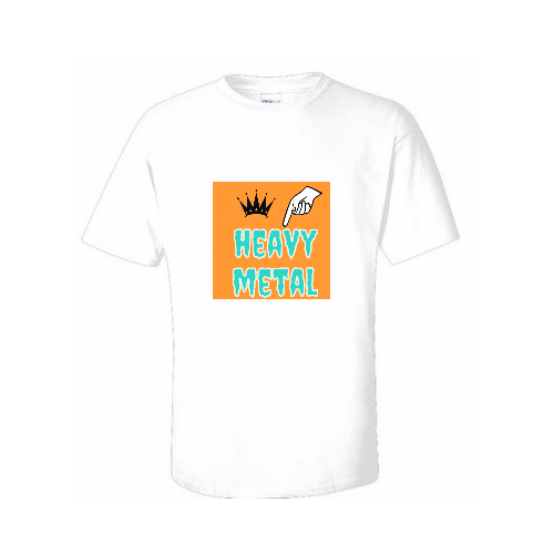 Custom Heavy Metal T-shirts