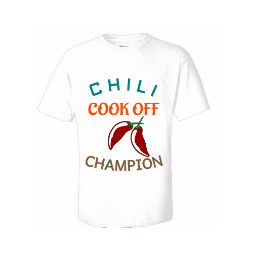 Chili Cookoff T-shirts