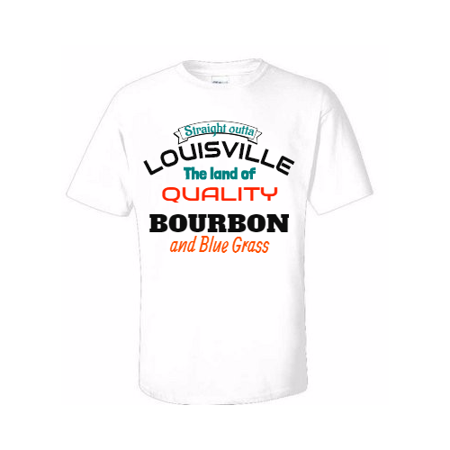 your Louisville pride with customized t-shirts