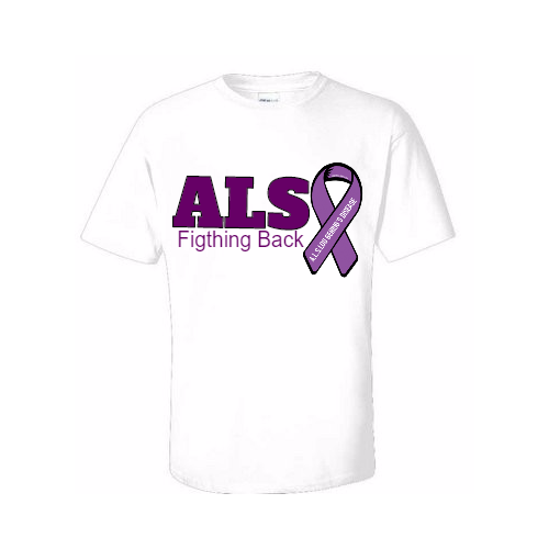 custom win ALS T-shirts
