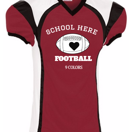Custom School football jerseys