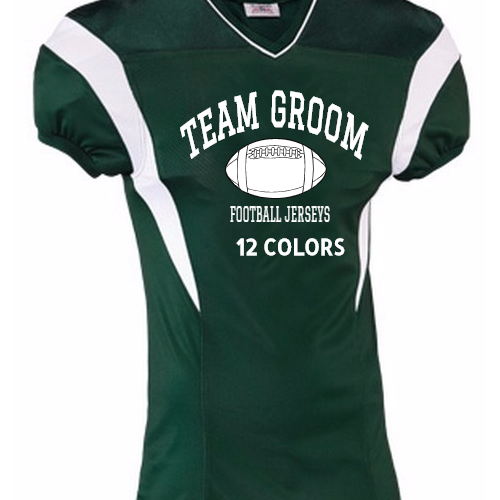 Groom Football jerseys
