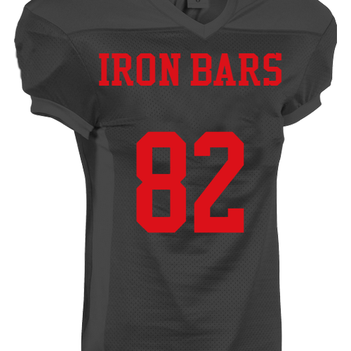Iron Bars  Football Jerseys