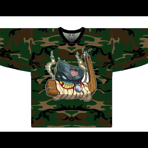 Custom Camo Hockey jersey