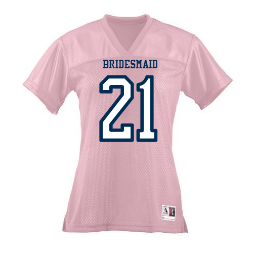 Bridesmaid Football jerseys
