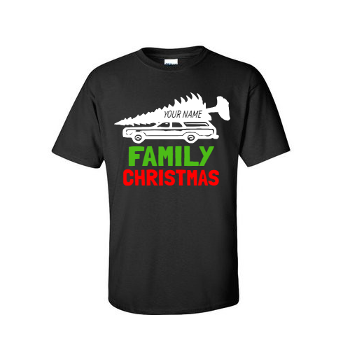 family christmas tshirt